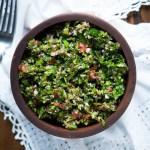 Ketogenic Tabbouleh Recipe