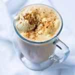 Suuuper Creamy Pumpkin Spice Latte 🎃 gluten free, keto & vegan