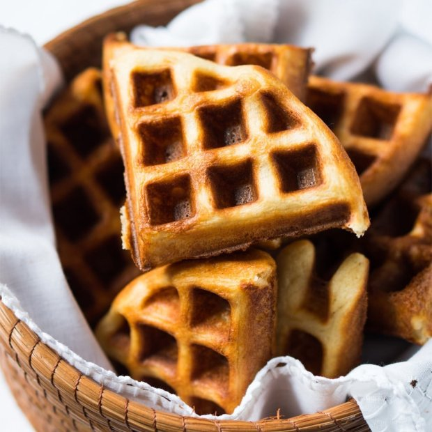 30-Minute Vegan & Gluten Free Yeasted Waffle Bread ?