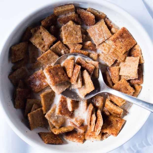 Paleo & Keto Cinnamon Toast Crunch 🥛