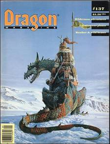 Generating a Year of Random Fantasy Weather Using Dragon Magazine #137