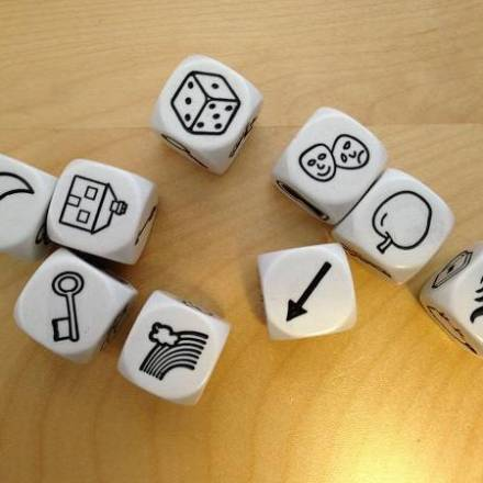 Ultra-quick NPCs on the fly with Rory's Story Cubes