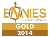 Gnome Stew Won the Gold ENnie for Best Blog — Thank You!