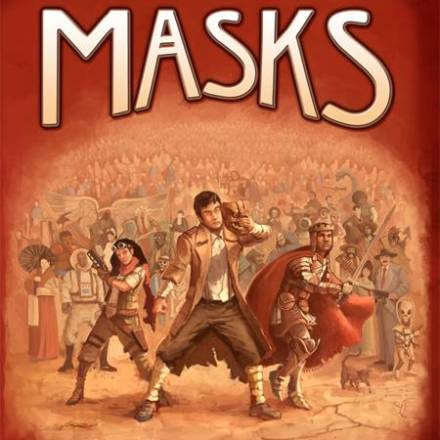 The Cover of Our Upcoming Book, Masks, Revealed!