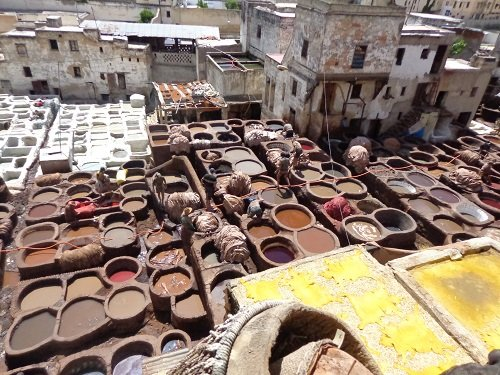 Chouara Tannery in Fes allows you to see the leather-making process first hand.