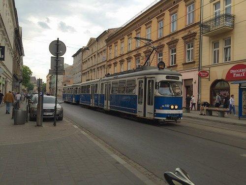 Krakow tram