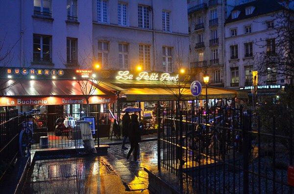 paris in the rain