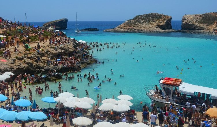 Visiting The Blue Lagoon In Malta Gnometrotting
