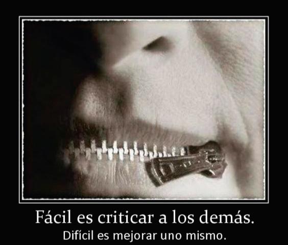 Criticar, la necesidad de criticar…