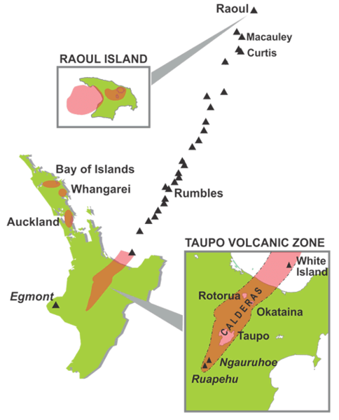 Volcanoes graphic