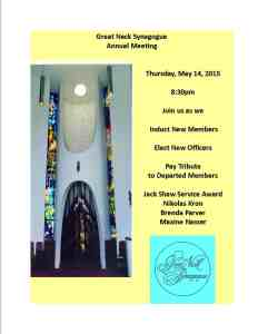 annual meeting 2015 flyer