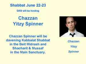 Chazzan Yitzy Spinner