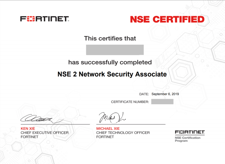 fortinet-nse2-certification