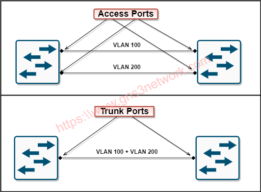 access-link-vs-trunk-link