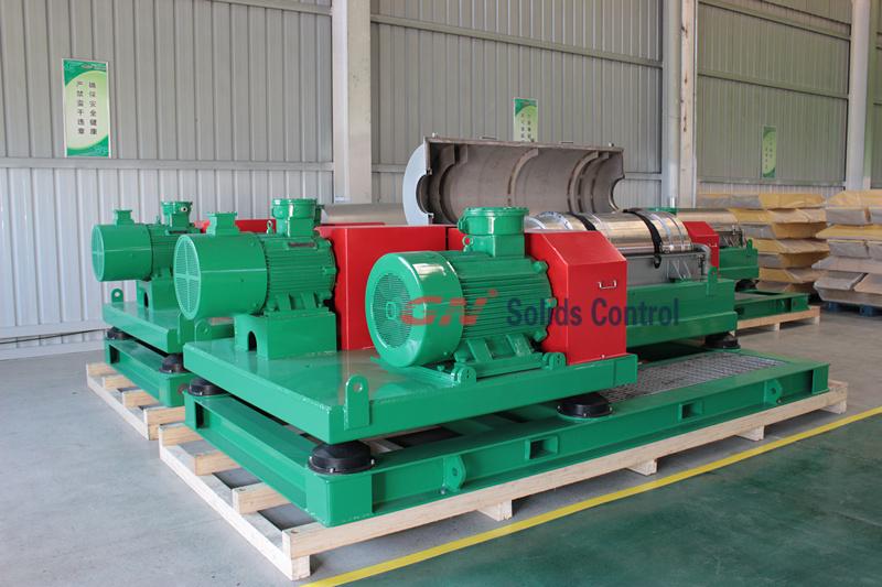 2015.11.05 Big Bowl Big Volume decanter centrifuge shipping to Australia