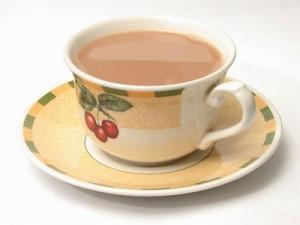 شاي بالكريمة
