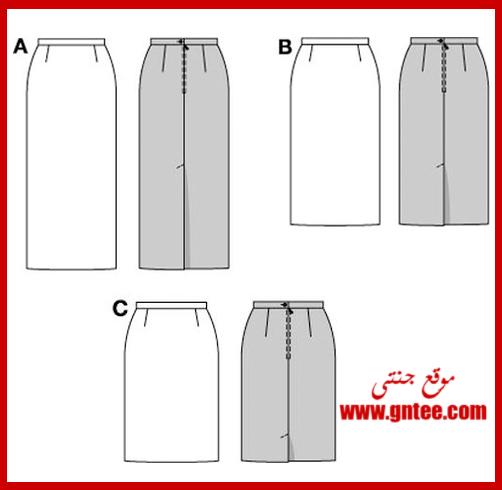 straight_skirt_pattern
