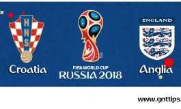 Ponturi fotbal - Croatia - Anglia - Campionatul Mondial - Semifinale - 11.07.2018