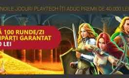 Premii saptamanale cu noile jocuri Playtech de la Casa Pariurilor