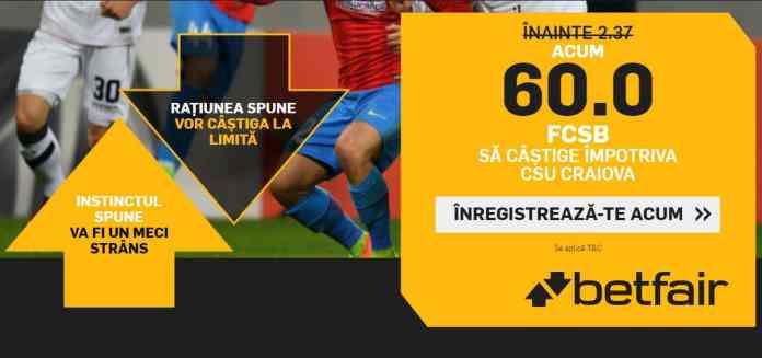 Victoria FCSB la Craiova
