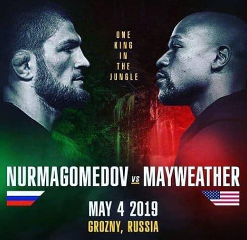 Khabib Nurmagomedov vs Floyd Mayweather are loc pe 4 mai 2019, in Rusia