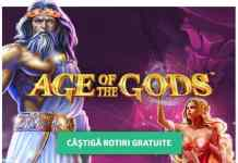 50 de Rotiri Bonus la Age of Gods (17-18 ianuarie)