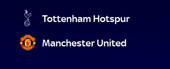 Tottenham vs Manchester United (13 ian)
