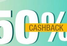 50% cashback pentru pariurile live 22-25 aprilie