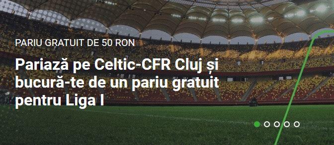 Promotii Celtic vs. CFR Cluj