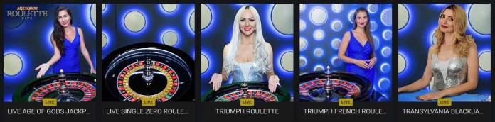 live tables casino fortuna