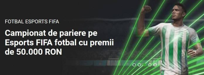 unibet campionat de pariere esports FIFA