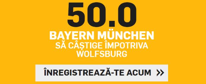 Cota speciala pentru Bayern