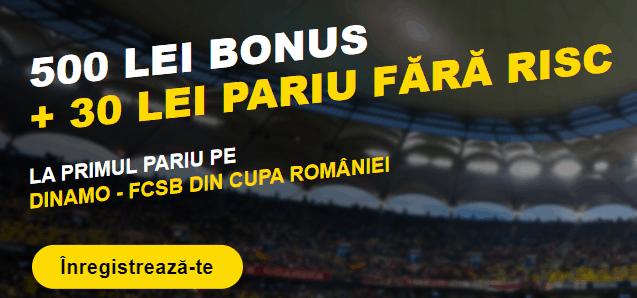 Pariu fara risc la Fortuna pentru Dinamo - FCSB