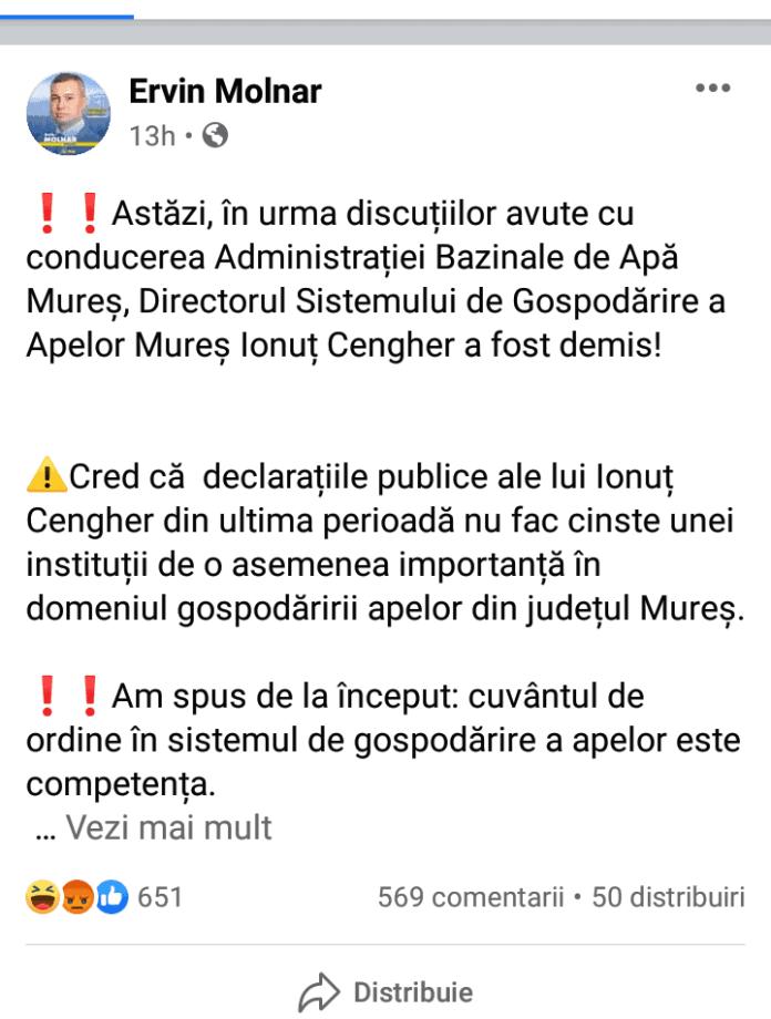 Ervin Molnar Facebook