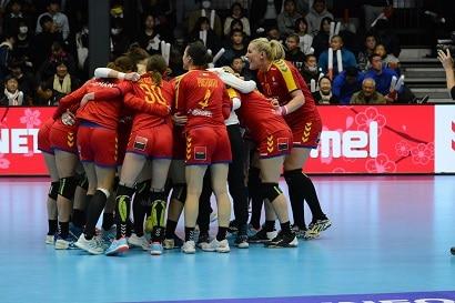 Campionatul European de handbal feminin - Prezentare Grupa D - ROmania