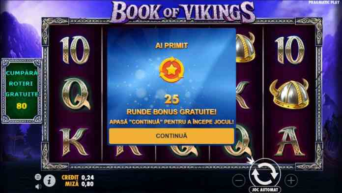 Rotiri Gratuite Book of Vikings
