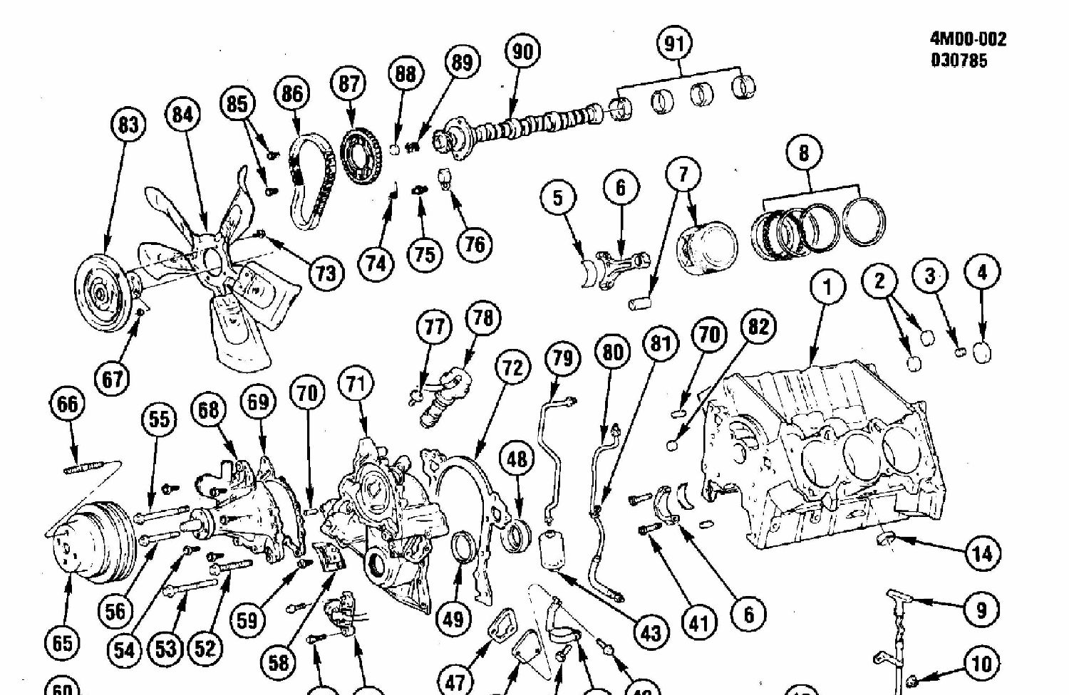 Buick Engine Diagram