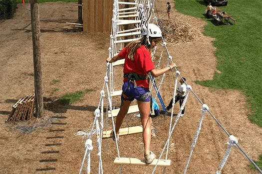 The Challenge Course at Highpoint Farm offers recreational teambuilding for youth and adults in MD/VA/DC metro area.
