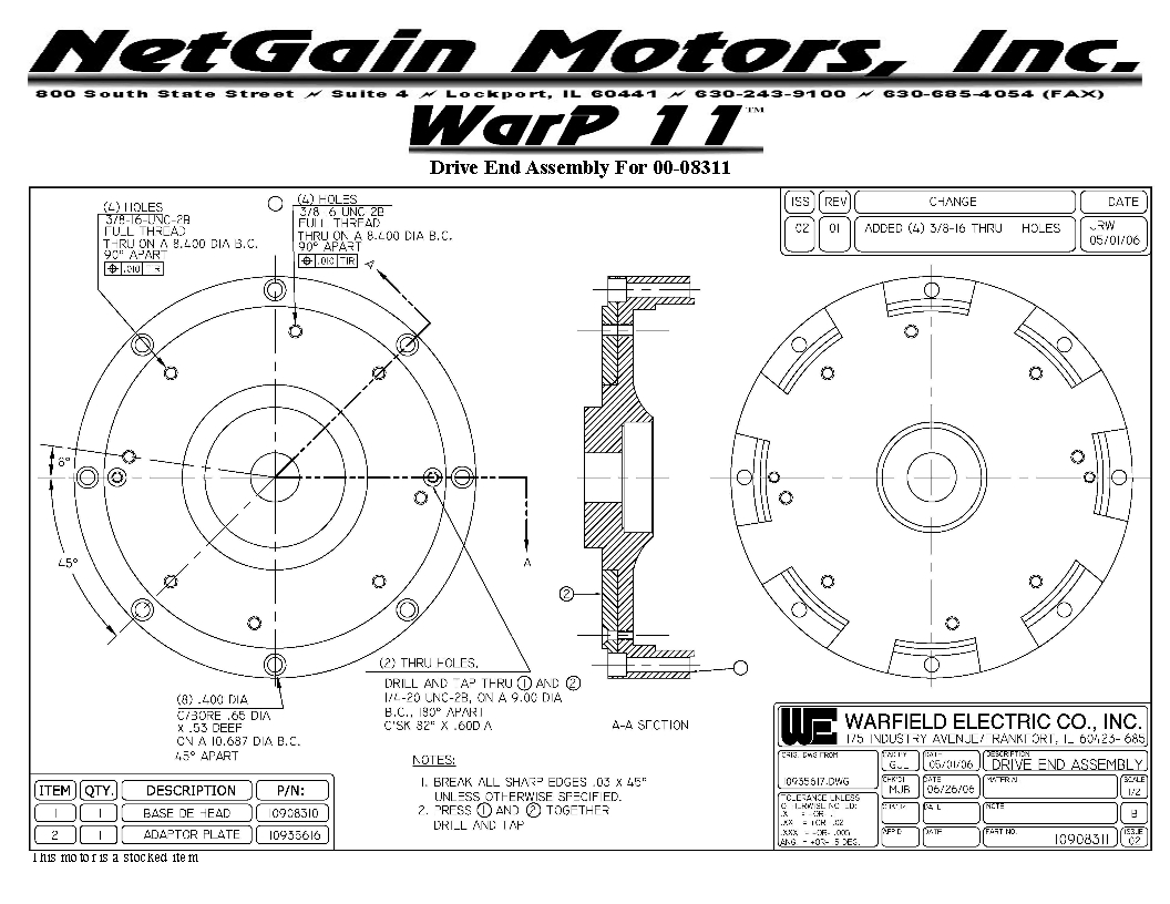 Motor Information