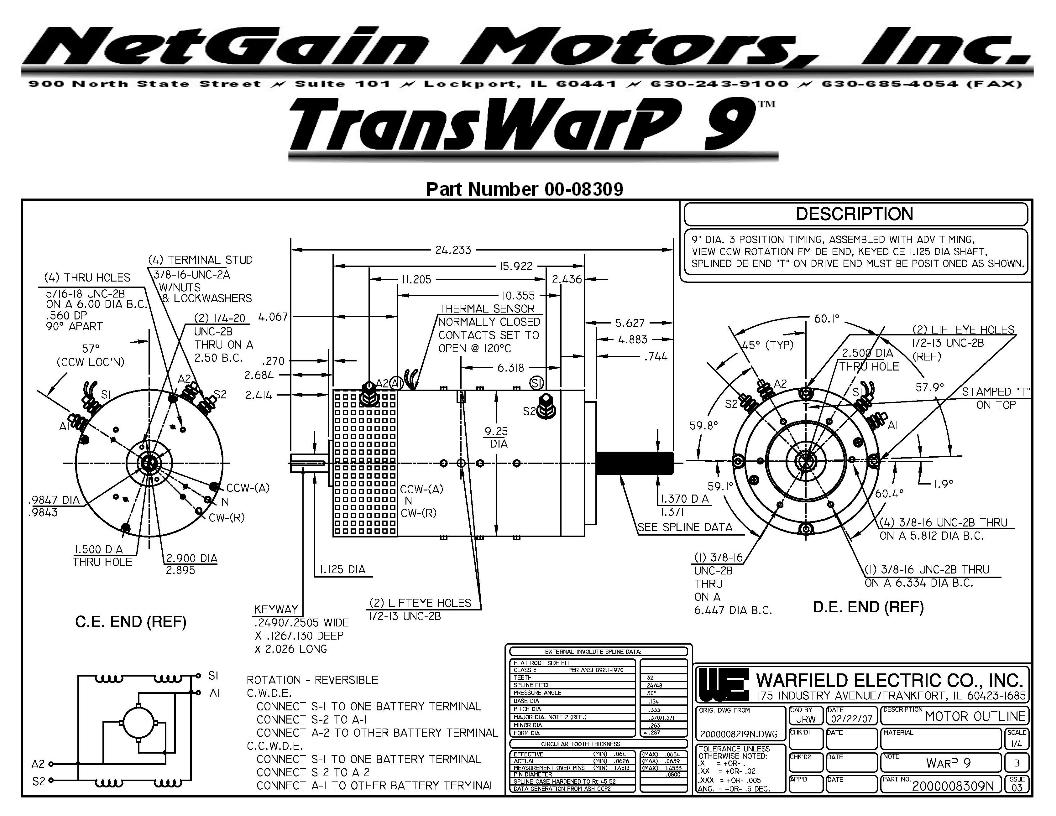 Transwarp Motor Information