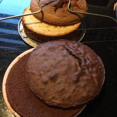 Zwarte pieten taart 2