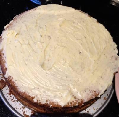 Zwarte pieten taart 4