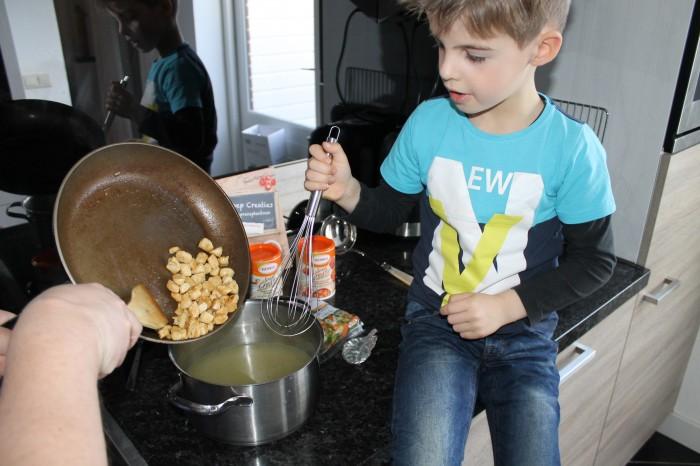 soep maken met kinderen