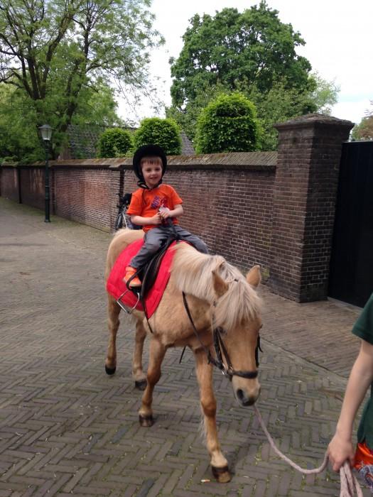 Paardrijden met kinderen
