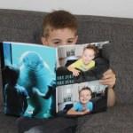 Nog maar twee jaar aan kinder-fotoalbums te gaan!