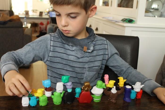 De Angry Birds namen op een rij