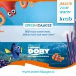 Finding Dory duikt op tijdens Zwem4daagse