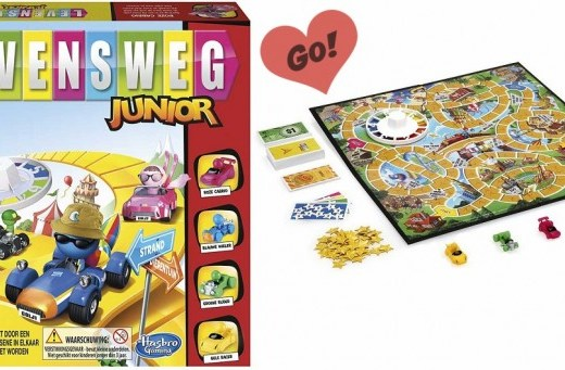 Review van het leuke spel levensweg junior voor kinderen