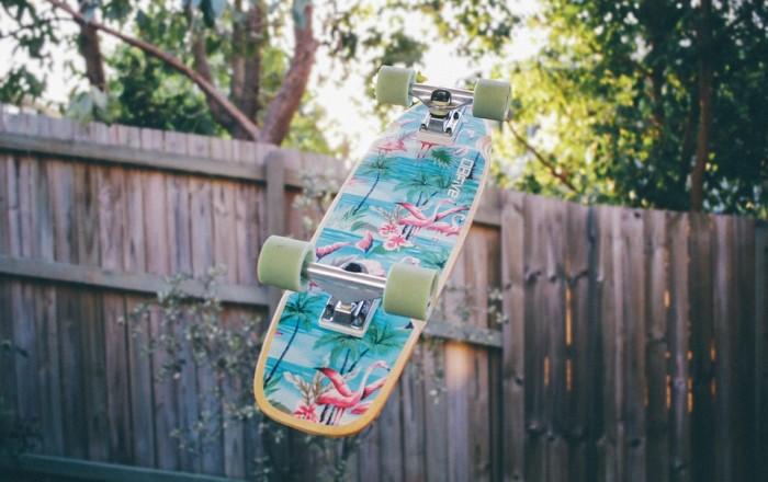 Een skateboard voor een 6-jarige?