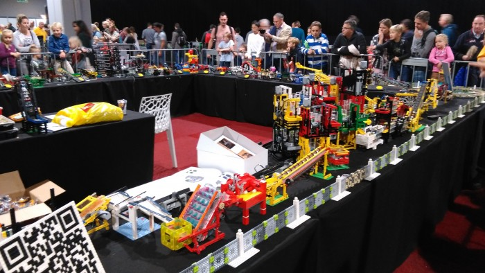 Lego World 2016 knikkerbaan